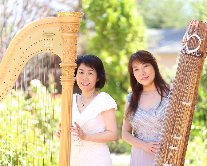 ハープと琴 Duo