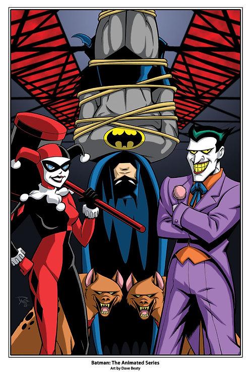 Batman: The Animated Series Art Print