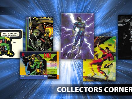 Loki, Batman, Black Adam Trading Cards, Star Trek Playmobil and MORE