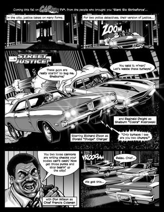 CARtoons #1 page 1