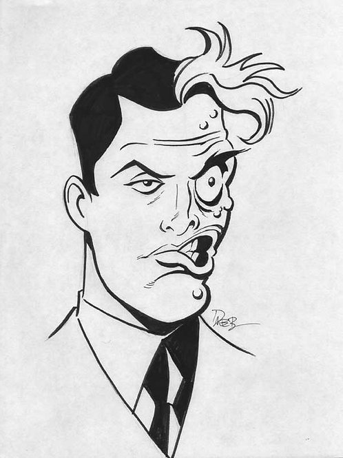 Animated Two-Face Sketch