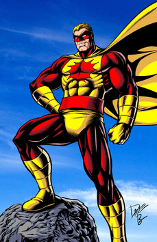 Golden Age Superhero Atoman