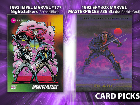 Blade Trading Cards!