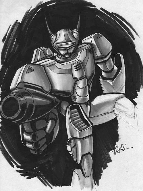 Robotech Sketch