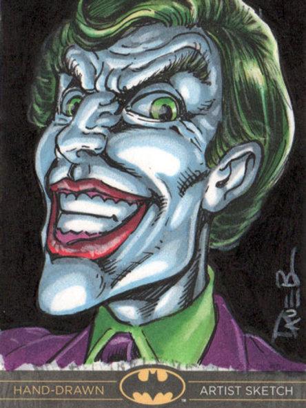 Batman the Legend Joker sketch card
