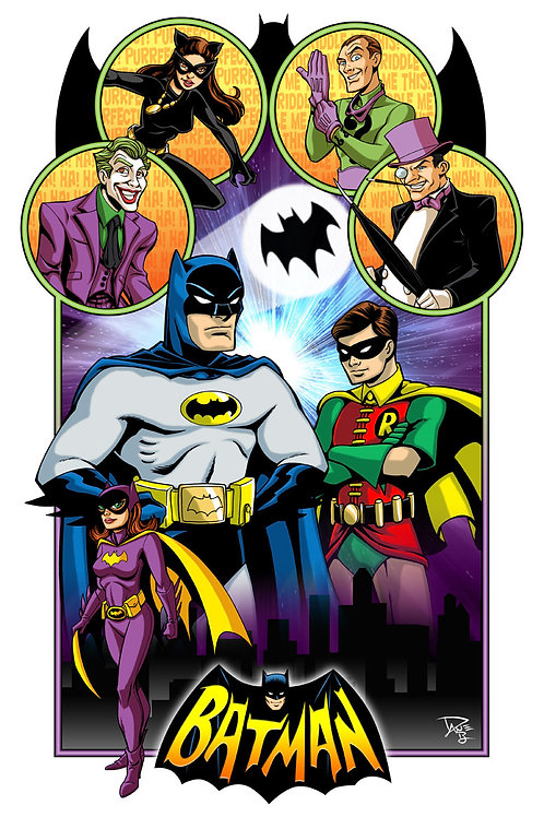 Batman '66 Art Print