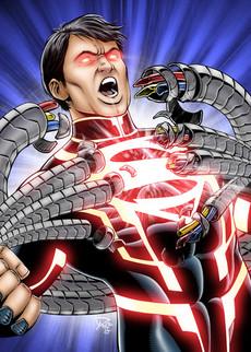 DC Comics New 52 Superboy Trading Card Art