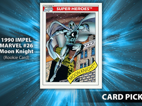 Moon Knight trading card, Midnight Sons comic books, pop culture news and more!