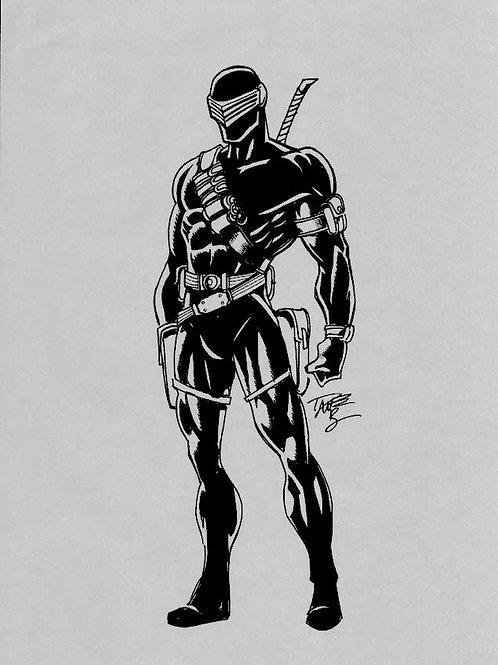 G.I. Joe Snake Eyes Sketch