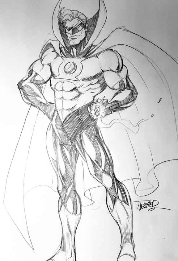 Alan Scott as the Sentry