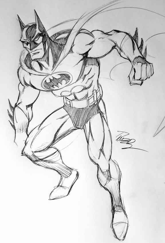 Super Powers style Batman
