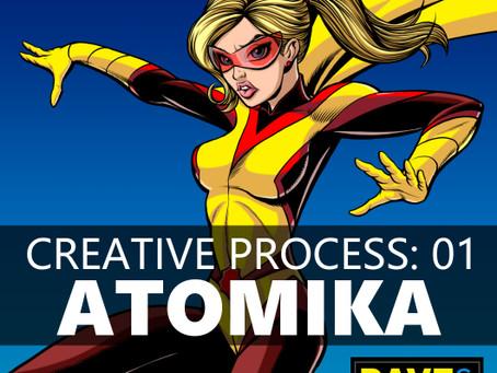 Creative Process: 01 ATOMIKA