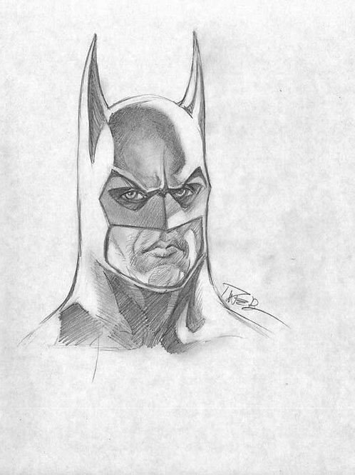 1989 Batman Pencil Sketch