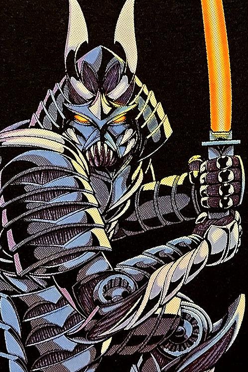 Cyber Samurai Blue