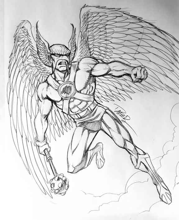 Super Powers style Hawkman