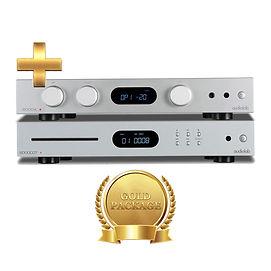 Audiolab 6000CDT - CD Transport + Amp - Audiolab 6000A