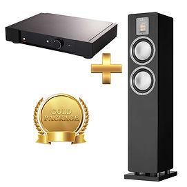 Amp - Rega  Elex-R + Speaker - Audiovector QR3