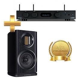 Amp - Audiolab 6000A + Speaker - Wharfedale EVO4.1