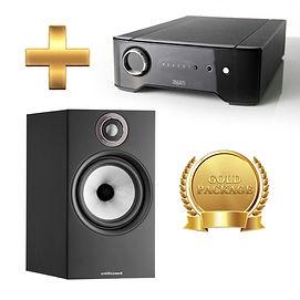Amp Rega Brio + Speaker - B&W 606 S2