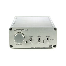 Graham Slee - Accession MC- moving coil phono stage with volume control