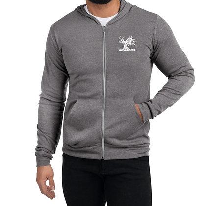 Nostalgink Fighting Rooster Unisex zip hoodie