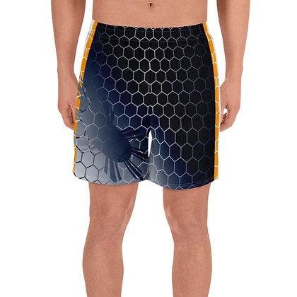 Philippines Flag Men's Athletic Long Shorts Flag 4
