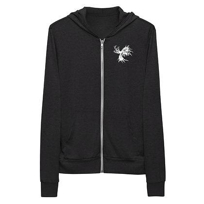 Nostalgink Logo Unisex zip hoodie