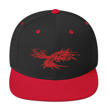 Fighting Rooster Snapback Hat