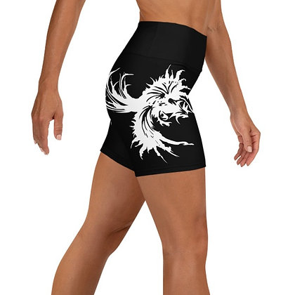 Fighting Rooster Yoga Shorts