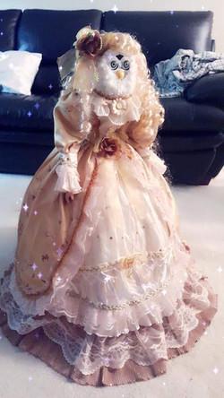 long pink furby princess