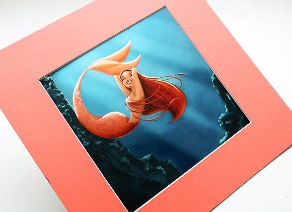 Sereia Coral - COM PASPATUR