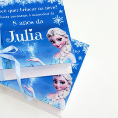 Caixinha para aniversário infantil - Frozen