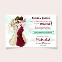 Convite para Madrinhas