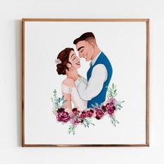 arte para SORRIR - Clara e William