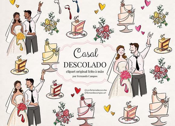 Kit Digital Casal Descolado