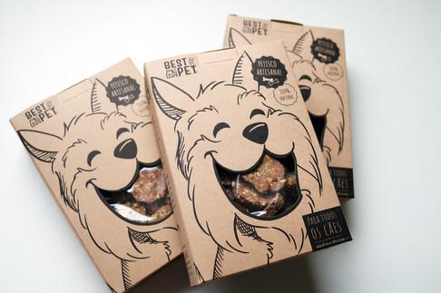 Ilustração para embalagem de petisco BEST FOR PET