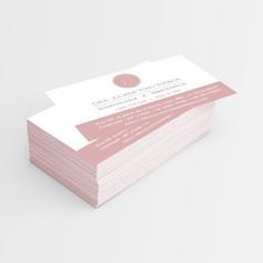 Cartão de Visitas para DRA JULIANA YOKO YONEDA