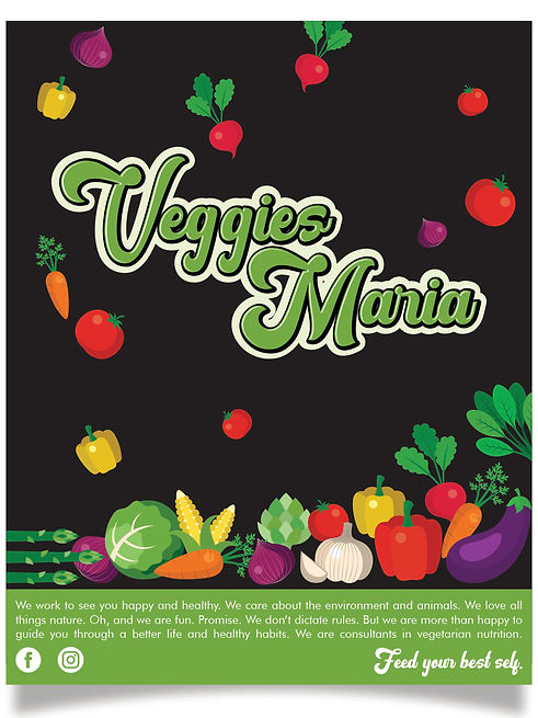logomarca restaurante vegetariano nutric
