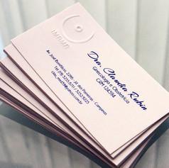 Cartão de Visitas para DRA CLAUDIA RUBIN - IMAMA