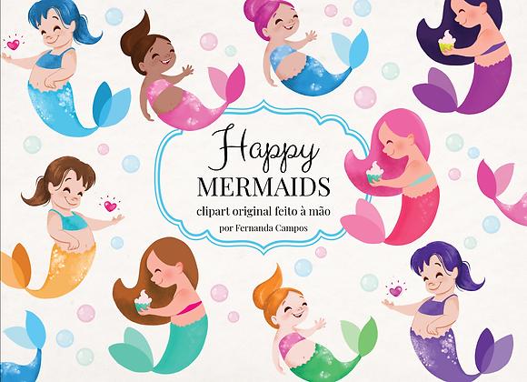 Kit Digital Happy Mermaids