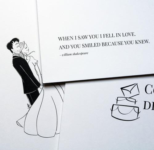 Ilustração para folder de apresentação