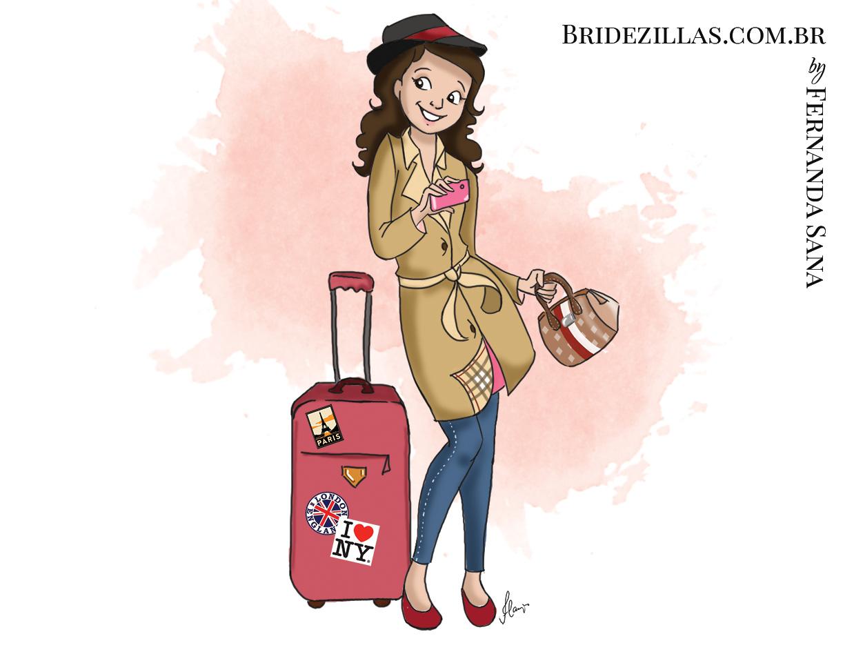 Young traveler Valentina