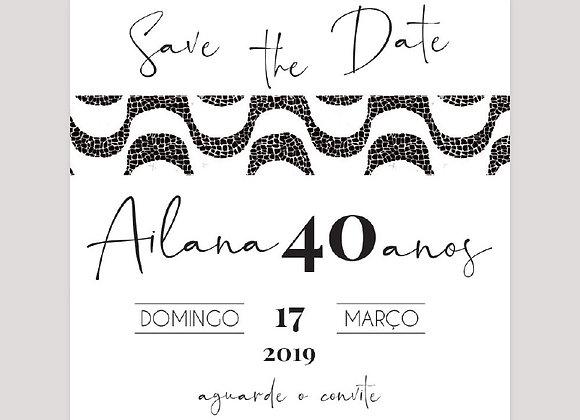 Save the Date COPACABANA P&B