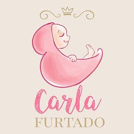 Logomarca Carla Furtado Enxoval Bebe Con