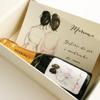 caixa presente para madrinhas