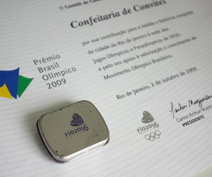 Projeto para o Comitê Olímpico RIO 2016