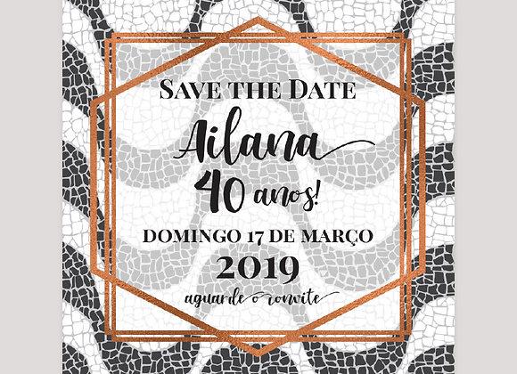 Save the Date - Calçada COPACABANA