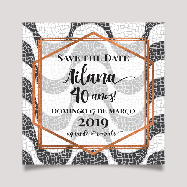 Save the Date COPACABANA DIAMANTE
