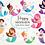 Thumbnail: Happy Mermaids Clipart Bundle