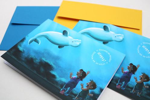Cartões comemorativos para varejo